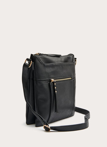 Company - Stitch Detail Crossbody Bag, Black, hi-res