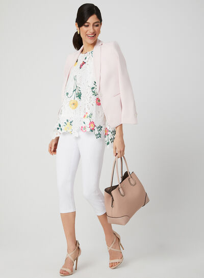 Ness - Floral Print Top