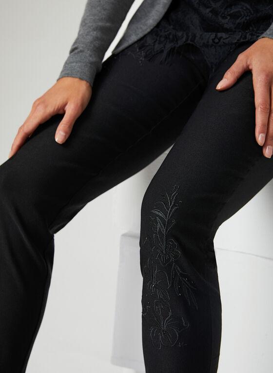 Simon Chang - Pantalon coupe signature à jambe étroite, Noir, hi-res