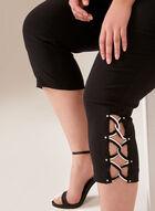 Capri pull-on coupe moderne à détail lacé, Gris, hi-res
