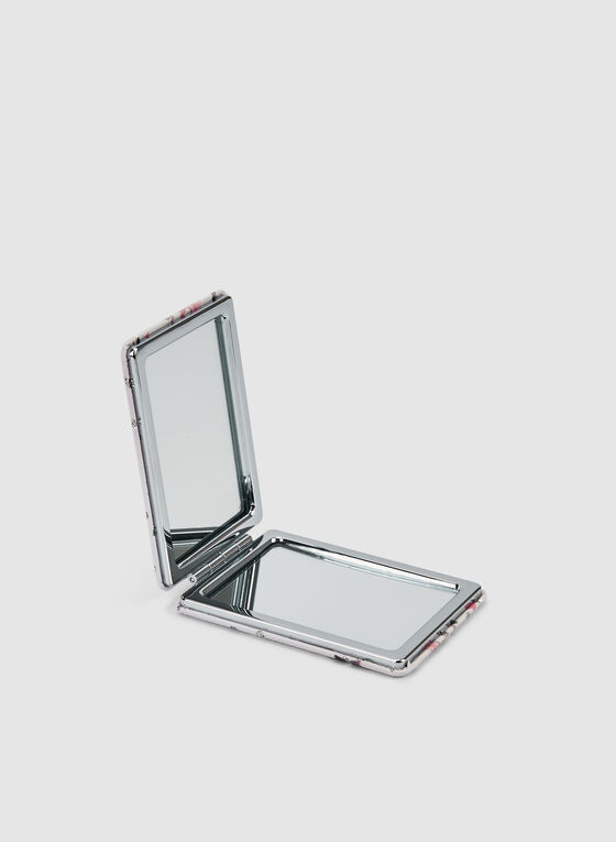 Rectangular Compact Mirror , Red