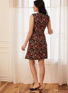 Floral Print Dress, Orange