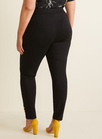 City Fit Slim Leg Pants, Black,  pants, city fit pants, city fit, pull-on, elastic waist, slim leg, slim leg pants, legging, spring 2020, summer 2020