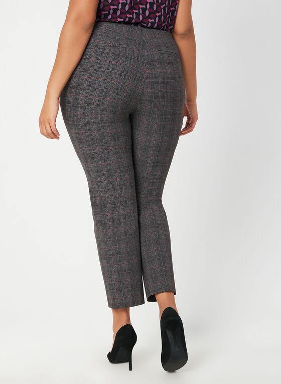 Pantalon motif Prince-de-Galles, Gris, hi-res