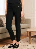 City Fit Slim Leg Pants, Black