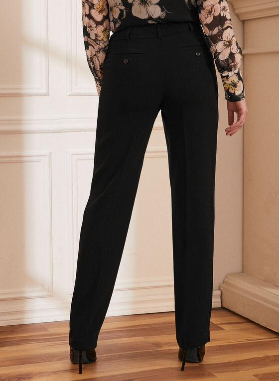 Louben - Pantalon à jambe droite , Noir