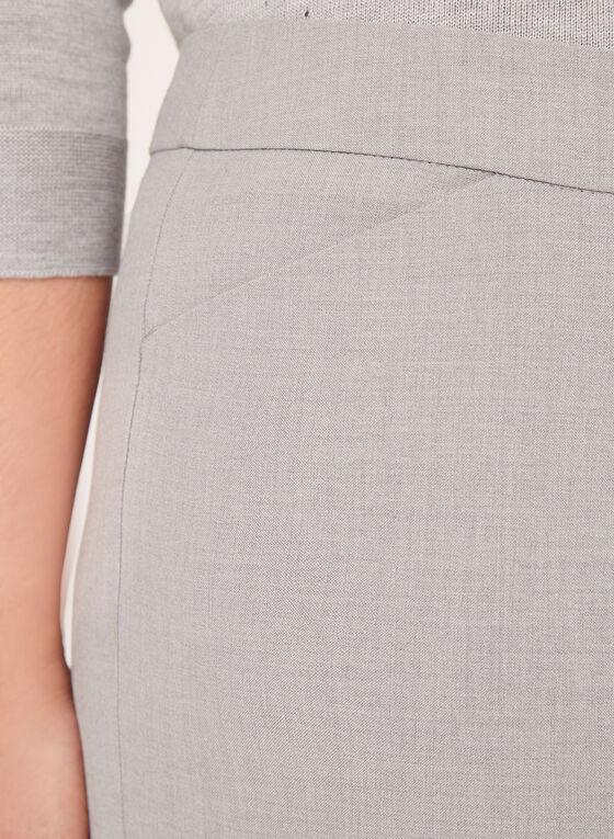 Pantalon cheville coupe cité à jambe droite, Gris, hi-res