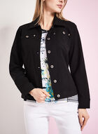 Simon Chang Bengaline Jean Jacket, Black, hi-res