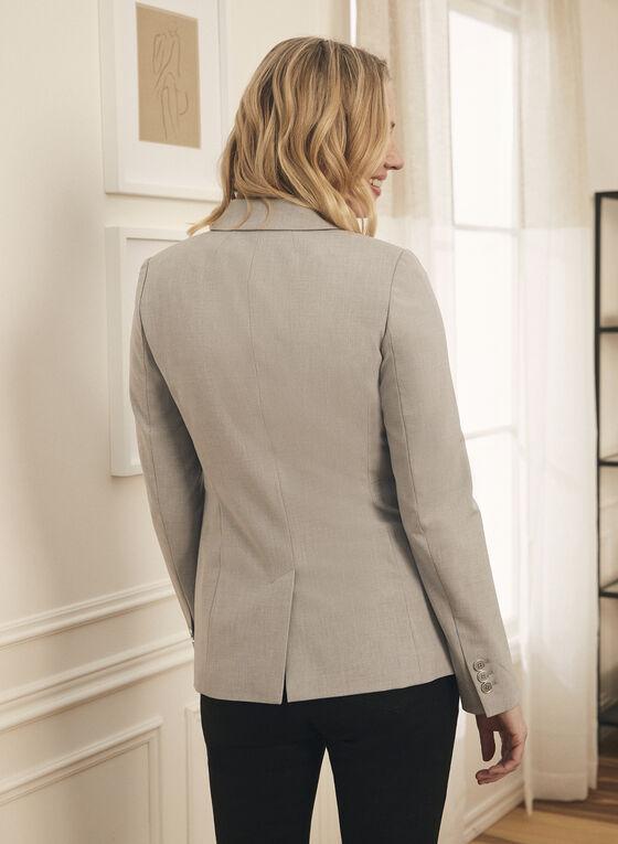 Notch Collar Jacket, Grey