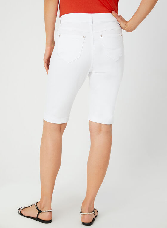 Modern Fit Shorts, White, hi-res