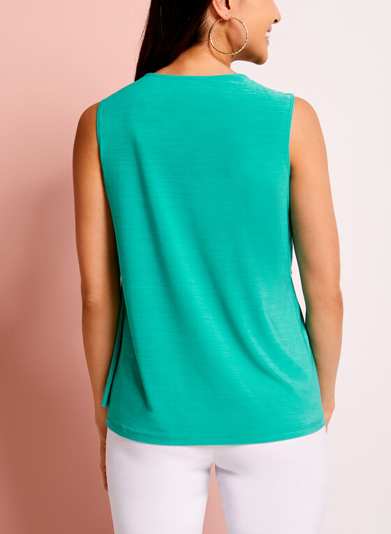 Asymmetric Double Layer Top, Blue, hi-res