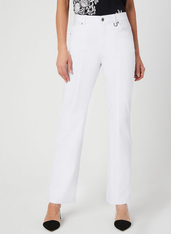 Simon Chang - Signature Fit Pants, White, hi-res