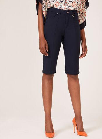 Simon Chang - Signature Fit Bermuda Shorts, Blue, hi-res
