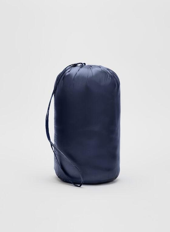 Lightweight Packable Down Coat, Blue, hi-res