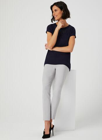 Crystal Embellished T-Shirt, Blue, hi-res,