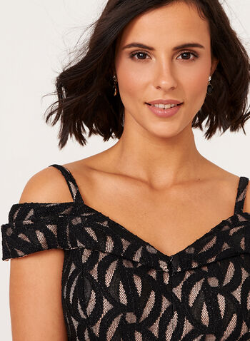 Bardot Off The Shoulder Lace Dress, , hi-res