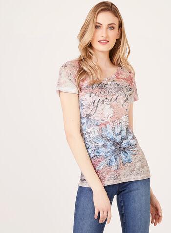 Vex - Artsy Script Print T-Shirt, Multi, hi-res