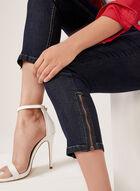 Frankie & Stella - Slim Leg Denim Capri Pants, Blue, hi-res
