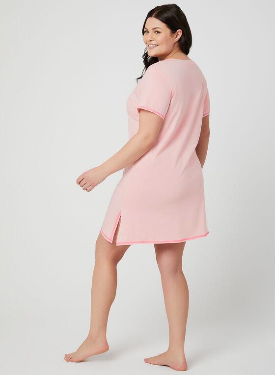 René Rofé - Appliqué Nightgown, Pink, hi-res