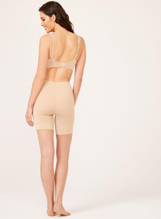 Secret Slimmers – Medium Control Mid Thigh Shaper, Off White