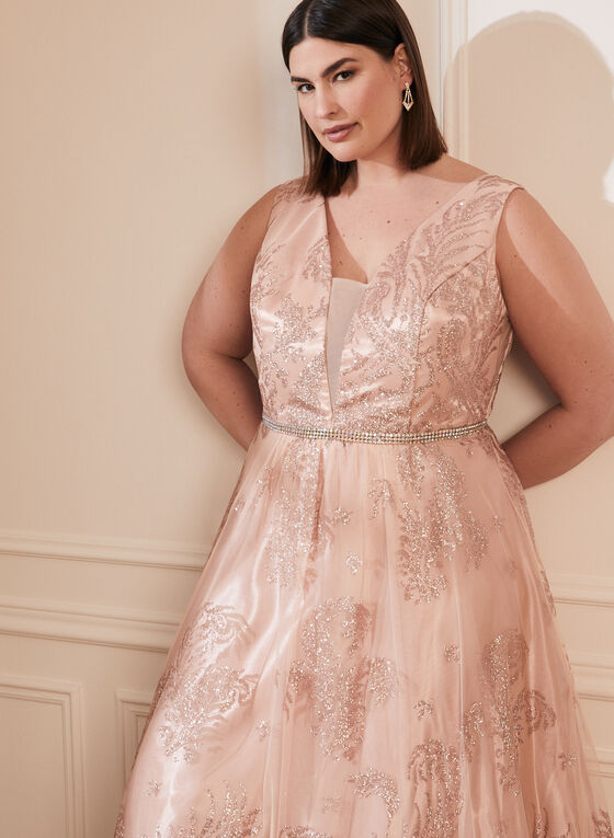 Cachet - Glitter Ball Gown, Pink