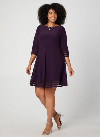 Jessica Howard - Mesh Detail Dress