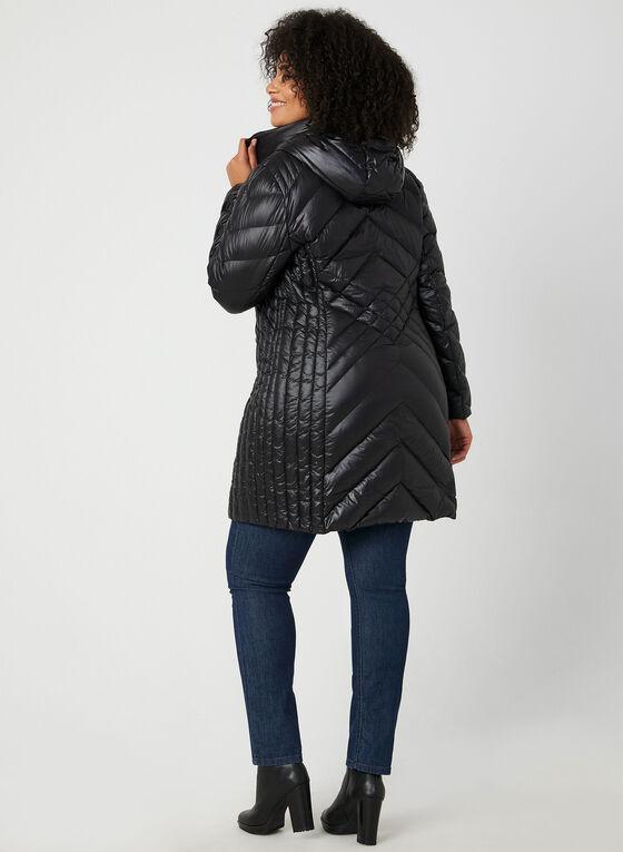 BCBGeneration - Manteau compressible à capuchon, Noir