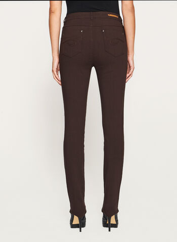 Simon Chang - Signature Fit Straight Leg Pants, Brown, hi-res