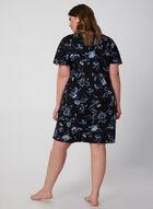 Hamilton - Floral Print Nightgown, Blue, hi-res