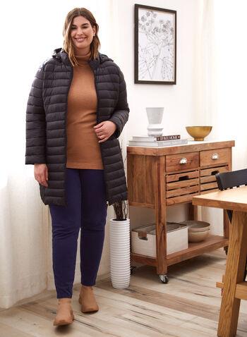 Jeans à jambe droite, Bleu,  automne hiver 2020, jean, denim, extensible, cinq poches, 5 poches, ganses, jambe droite