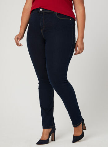 Carreli Jeans - Modern Fit Straight Leg Jeans, Blue, hi-res