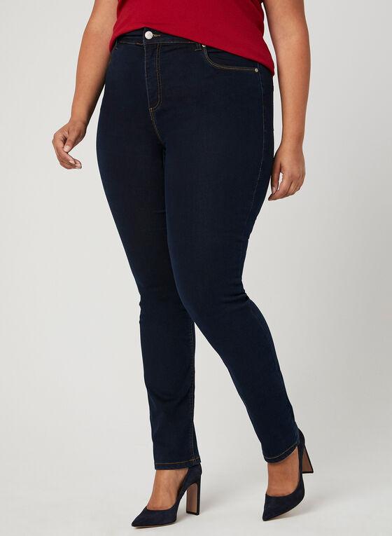 Carreli Jeans - Jean à jambe droite, Bleu, hi-res