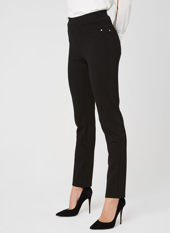 Vex - Straight Leg Pants, Black, hi-res
