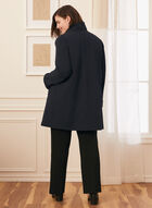 Manteau imperméable à capuchon, Bleu