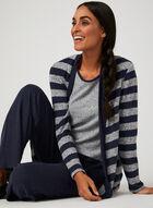 Haut sans manches en tricot chiné, Argent, hi-res
