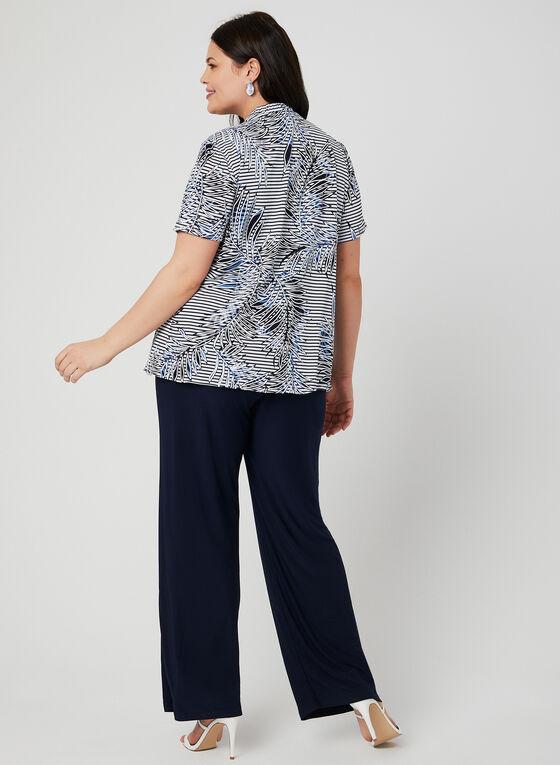 3-Piece Pantsuit, Blue