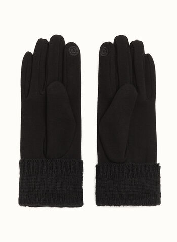 Studded Crystal & Pearl Gloves, , hi-res