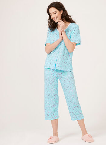 Hamilton - Cotton Button Down Pajamas, Blue, hi-res