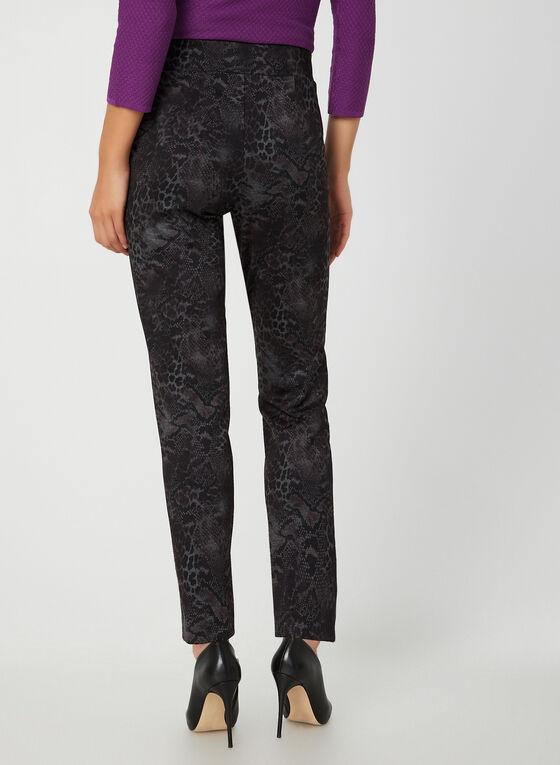 Pantalon coupe moderne en serpent, Violet