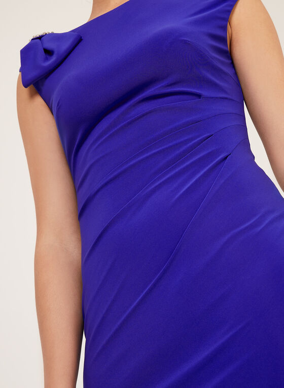 Jessica Howard - Crystal Detail Sheath Dress, Blue, hi-res