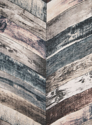 Foulard à rayures diagonales, Rose,  foulard, oblong, rayures, automne hiver 2019
