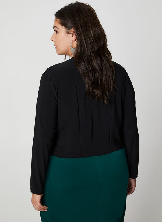 Long Sleeve Bolero, Black