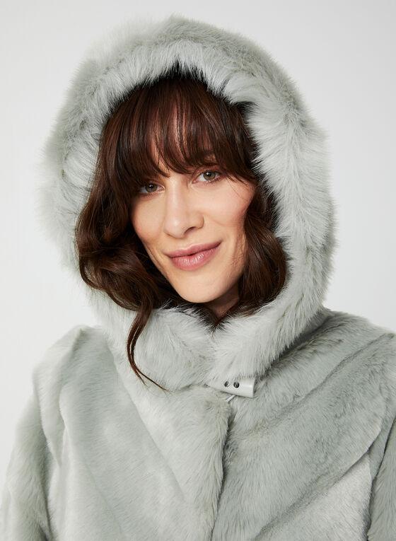 Nuage - Manteau en fausse fourrure, Vert