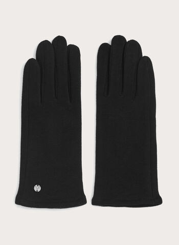 Touchscreen Knit Gloves, , hi-res