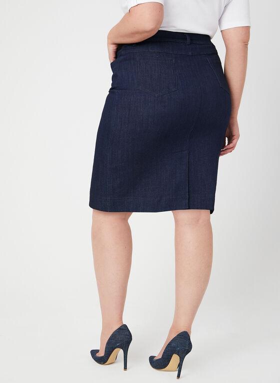 Mode de Vie - Jean Midi Skirt, Blue