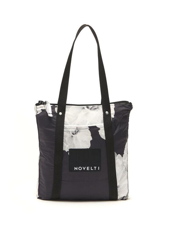 Novelti - Trench imperméable réversible à fleurs , Noir, hi-res