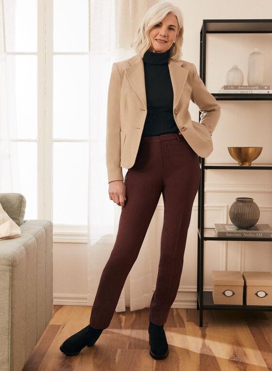 Louben - Wool & Cashmere Blend Jacket, Off White