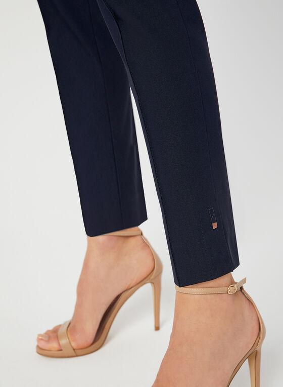 Pantalon coupe moderne à jambe étroite, Bleu, hi-res