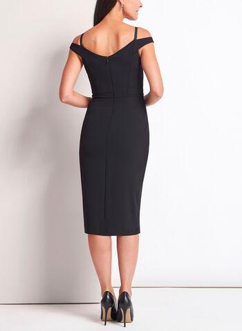 Off The Shoulder Midi Dress, , hi-res