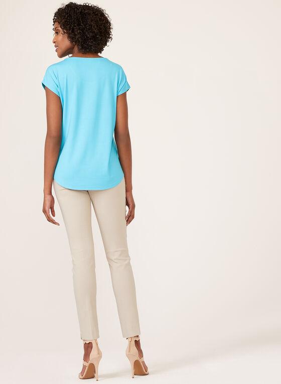 T-shirt à manches courtes, Bleu, hi-res